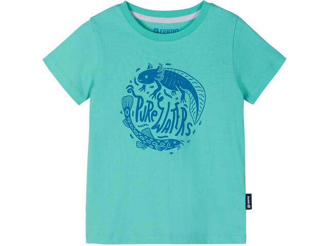 Reima Ajatus T-Shirt Kids, reef green